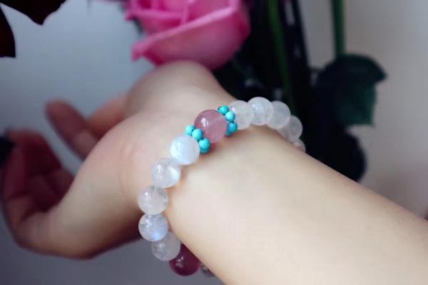 月光石 & 绿松石 & 海蓝宝 & 粉晶-菩心晶舍