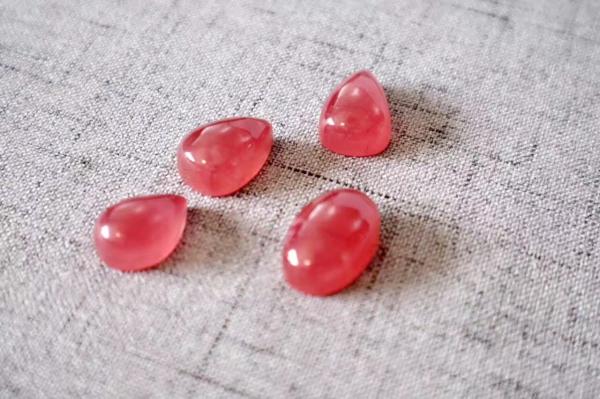 冰种红纹石小坠~爱神赋予能量的宝石-菩心晶舍