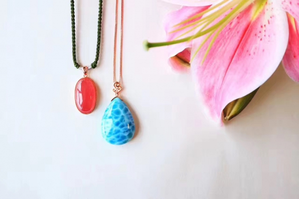 红纹石+海纹石-菩心晶舍