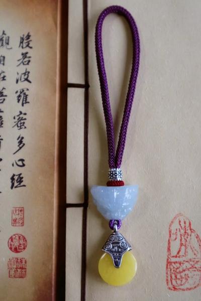 【翡翠蜜蜡 挂件】带着佩戴者的灵气无限流传,这便是魅力所在-菩心晶舍
