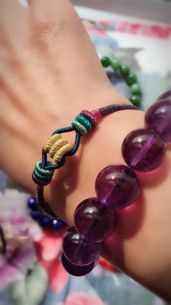迷你紫晶洞、网红款手绳~还有各种菩心晶石客户返图-菩心晶舍