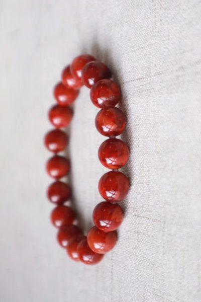 【南红玛瑙| 火焰纹】勇气和活力的象征-菩心晶舍