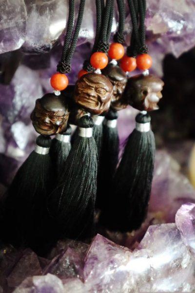 【挂件|小叶紫檀、南红玛瑙】-菩心晶舍