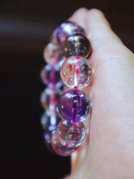 紫发晶 超七-对提升精神层次和自身频率非常有用的晶石-菩心晶舍