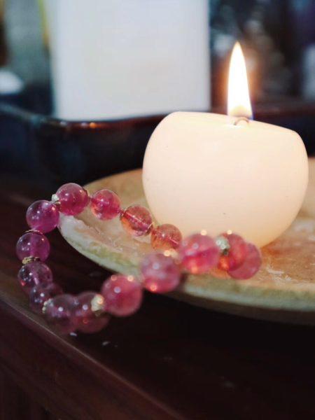 【红碧玺】 一条伴随一生的晶石-菩心晶舍