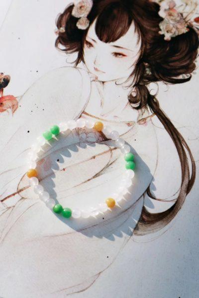 【三彩翡翠】跟小清新有关的事都是美好-菩心晶舍