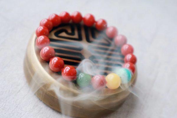【南红玛瑙】 南红串珠是一种好很特殊的美-菩心晶舍