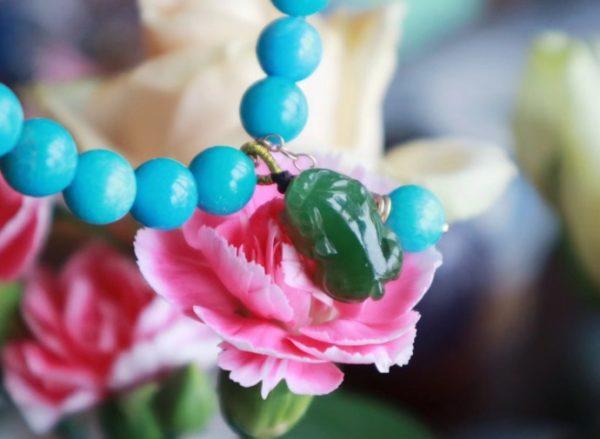 【原矿美松|碧玉貔貅|蜜蜡南红】 愿每个佩戴菩心晶石的宝宝,都不为生活的琐碎所累-菩心晶舍