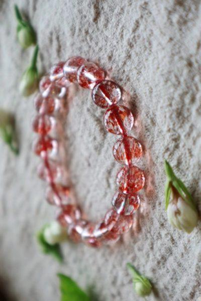 【金草莓晶】 又一条小可爱,招财招人缘-菩心晶舍