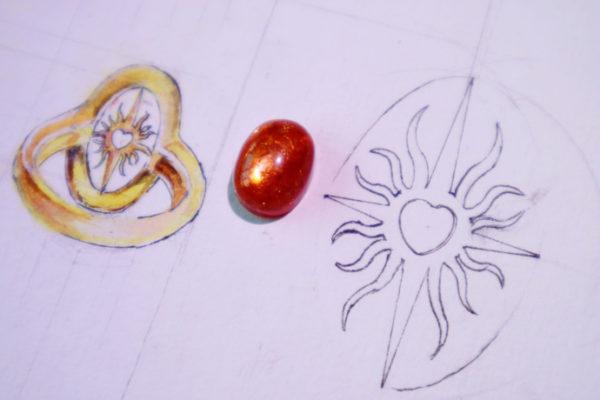 【太阳石】 最完美的太阳石-宝石级裸石来啦-菩心晶舍