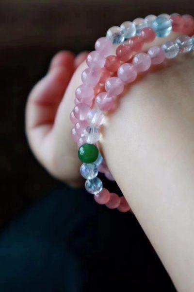 【月光石 | 粉晶 | 海蓝宝|红纹石】-菩心晶舍