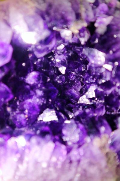 【紫晶洞】 一只乌拉圭顶级小紫晶洞-菩心晶舍