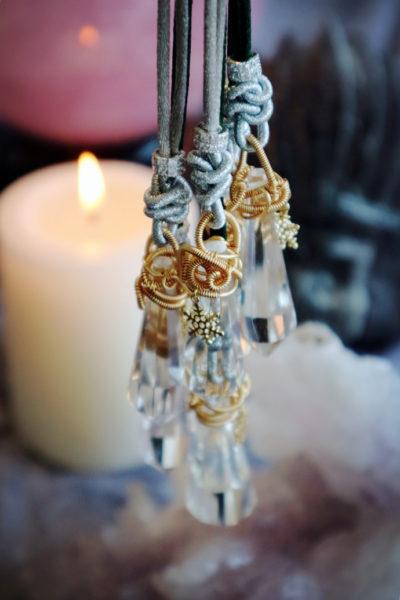 【极品白水晶-灵摆】人体本无病,都是心的缠缚-菩心晶舍