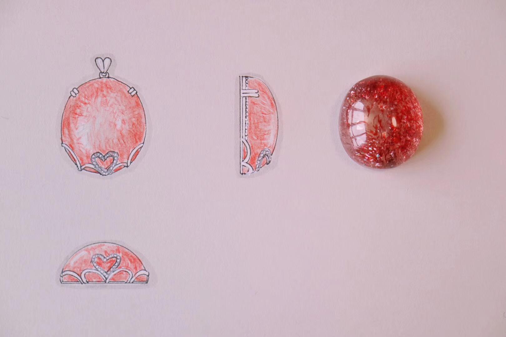 【菩心-金草莓晶】用爱心对撞空灵,也是件很酷的事儿-菩心晶舍