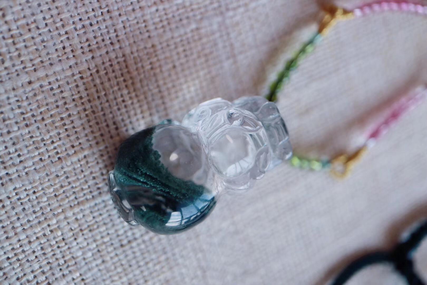 【菩心|绿幽灵】贼好看的绿幽灵貔貅~-菩心晶舍