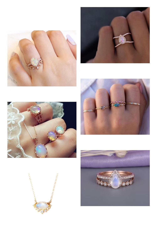 【菩心 欧泊】欧泊是珠宝设计师们的缪斯-菩心晶舍