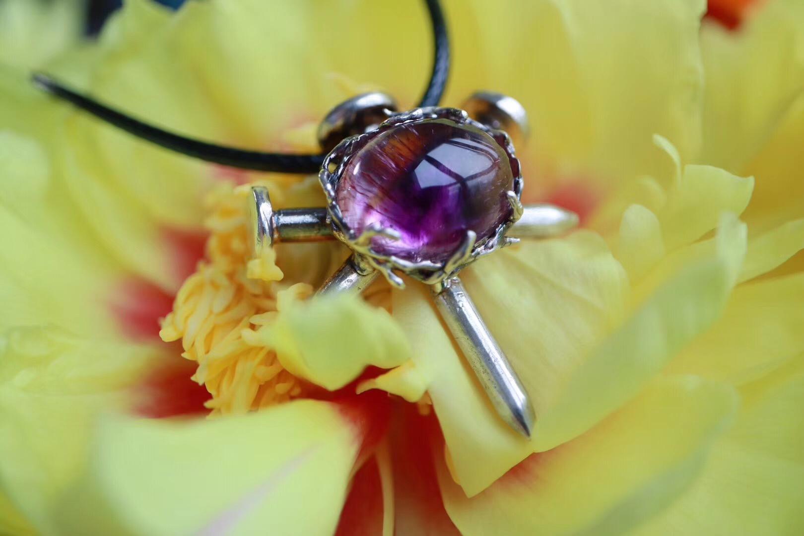 【菩心 | 紫发晶】奋斗的路上积极向上、勇往直前~~-菩心晶舍