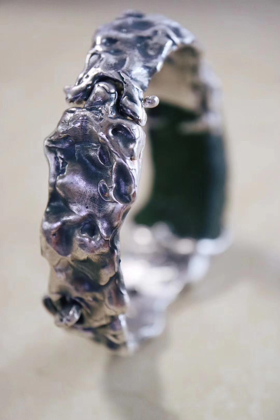【菩心-捷克陨石】捷克陨石手环,男女皆可佩戴。-菩心晶舍