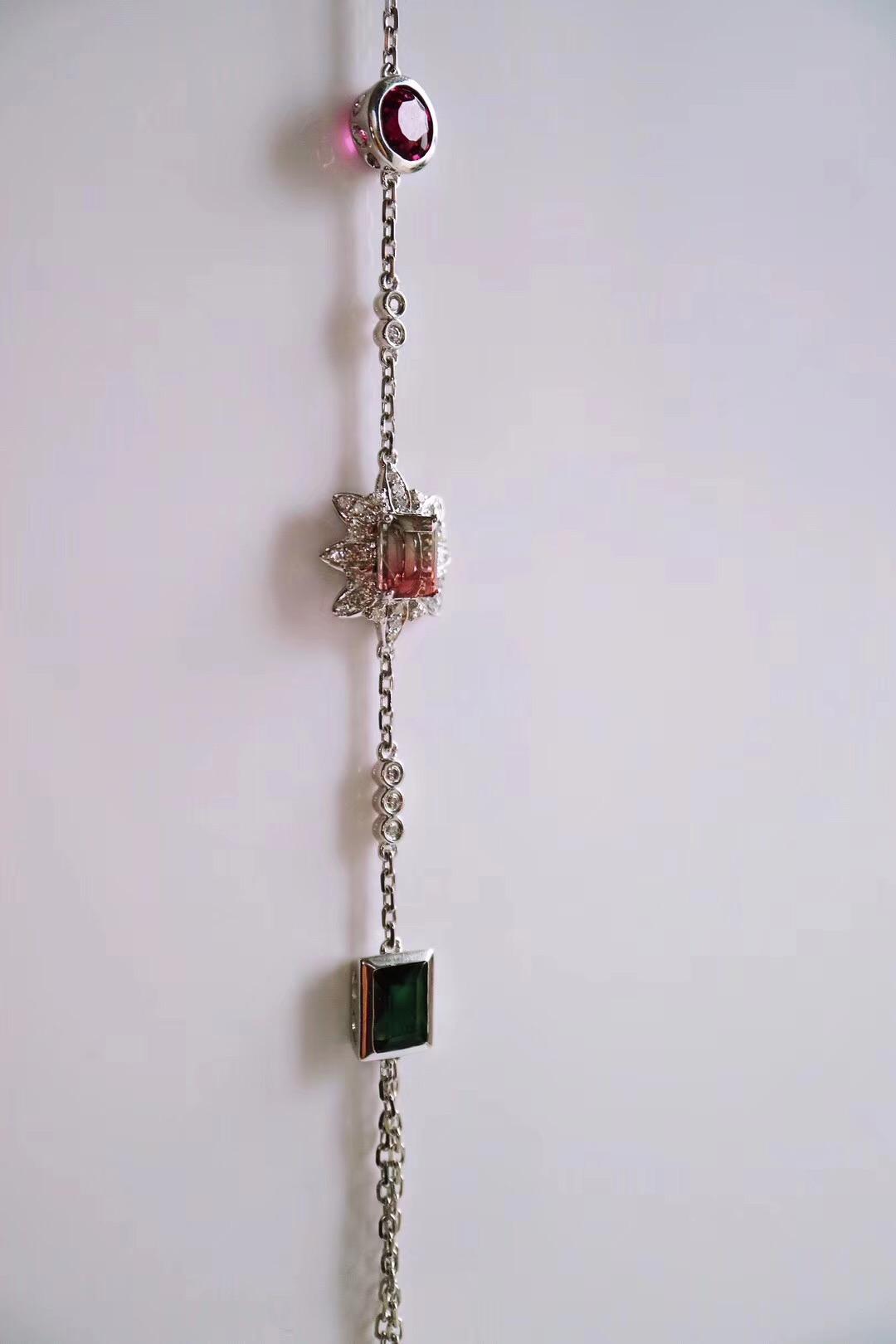 【菩心-碧玺手链】如此仙的手链,仙女小姐姐必备-菩心晶舍