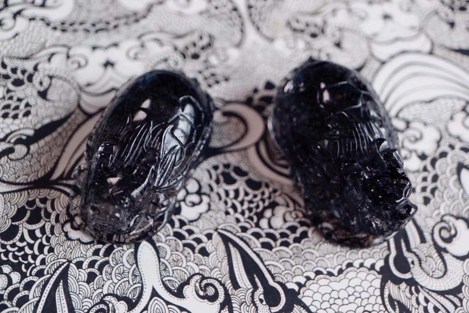 【菩心 | 黑发晶龙龟】四灵之一,吉瑞之兽-菩心晶舍