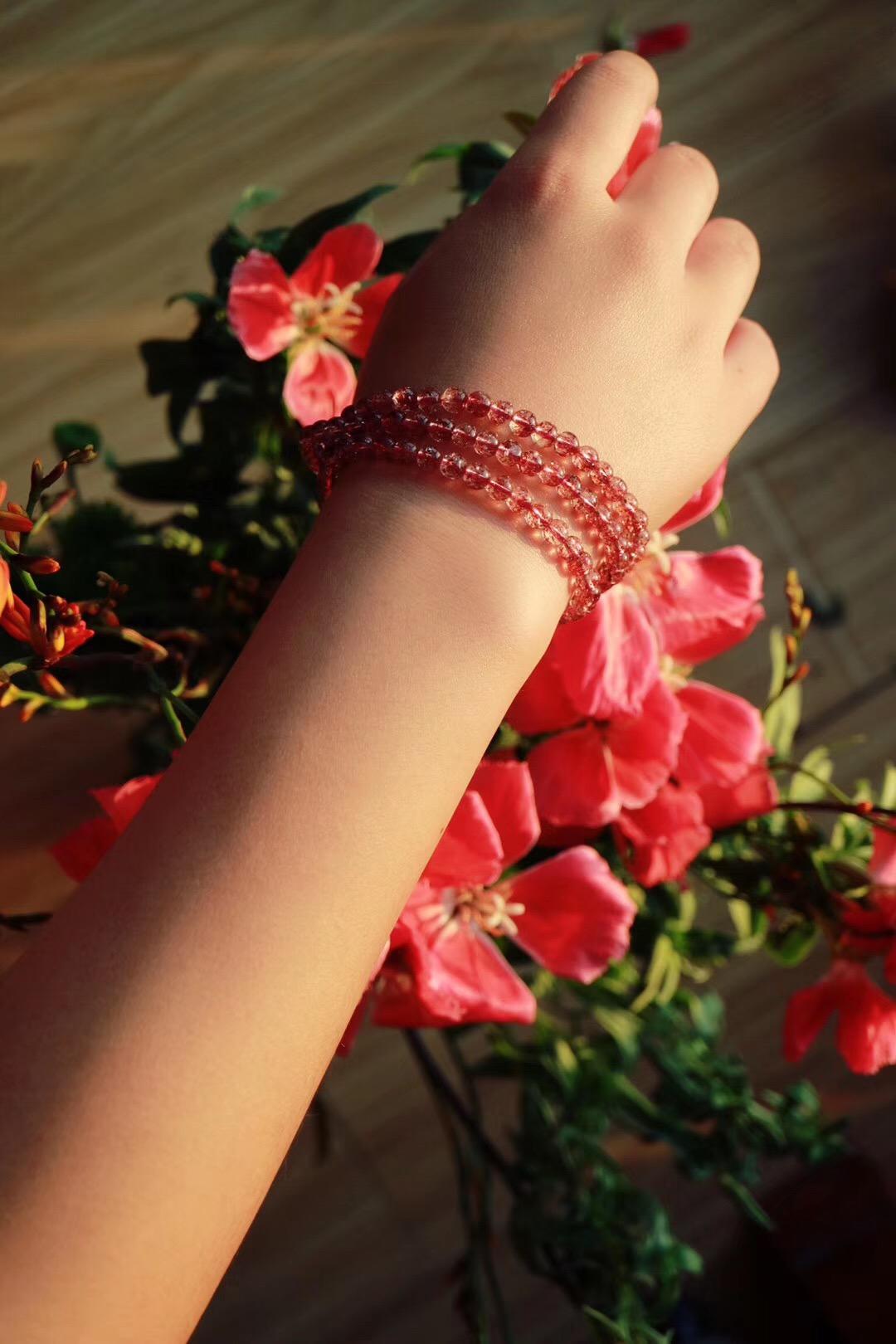 【菩心|金草莓晶】可助人缘,增进气场-菩心晶舍