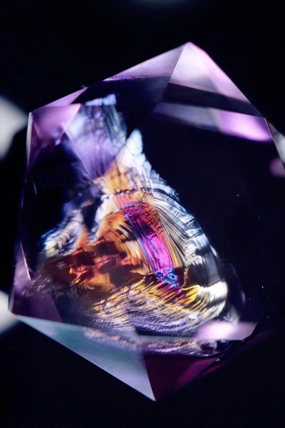 【菩心 | 紫水晶梅尔卡巴】此物万里无一,绝版~~-菩心晶舍