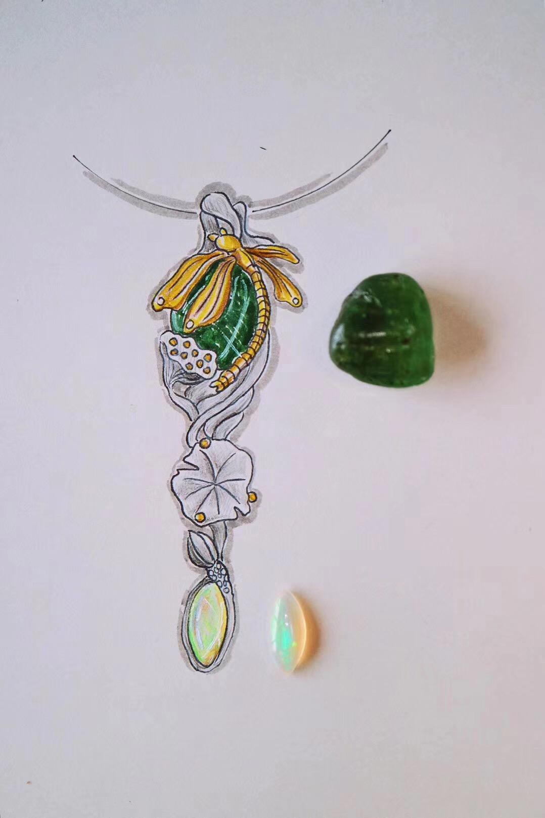 【菩心 绿碧玺】一根代表生命的权杖-菩心晶舍