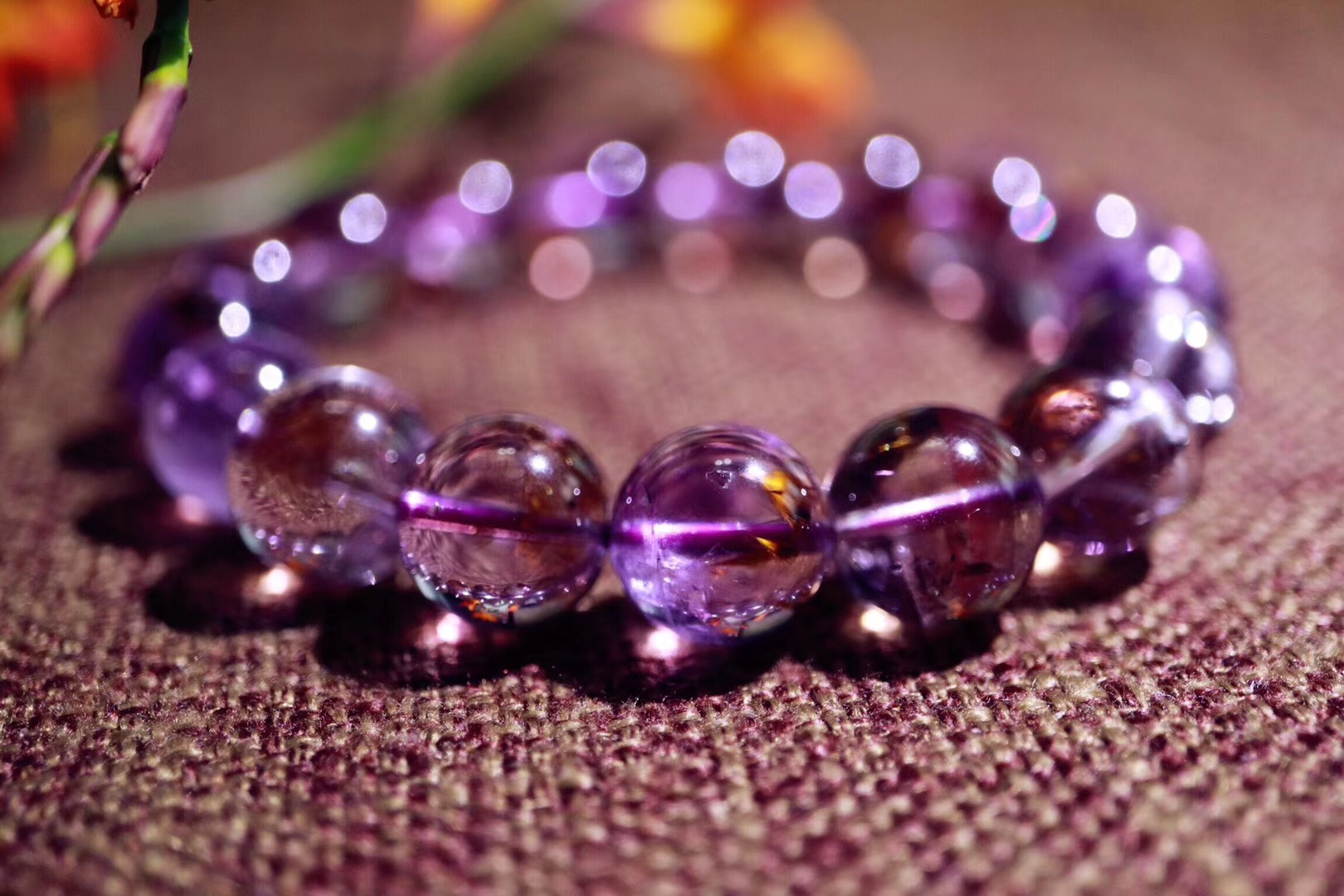 【菩心   紫钛晶】紫钛晶,兼顾了紫水晶的紫气东来和钛晶的招财-菩心晶舍
