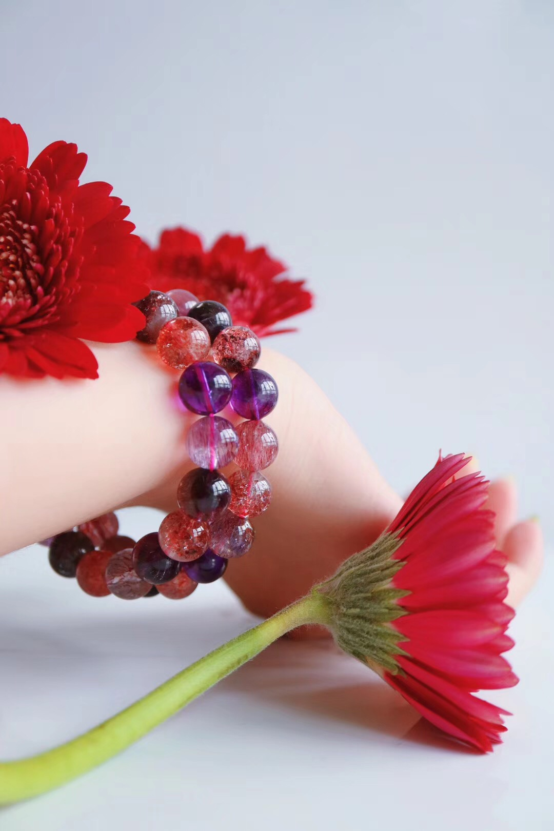 【菩心-紫发晶&超七】若你是水晶收藏者,紫发晶是绝不容错过的-菩心晶舍