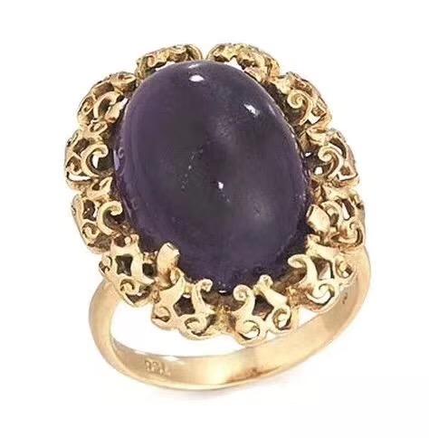 有一枚水晶戒指登上了佳士得拍卖会-菩心晶舍
