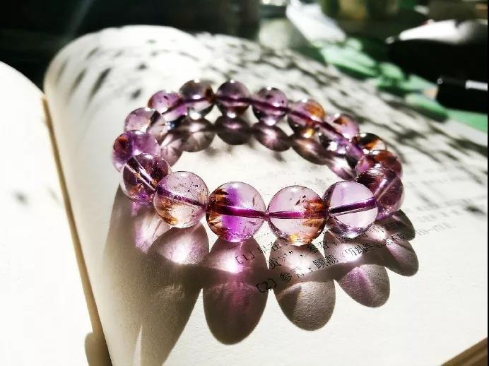 紫钛晶是什么水晶?紫钛晶手链的功效与作用-菩心晶舍