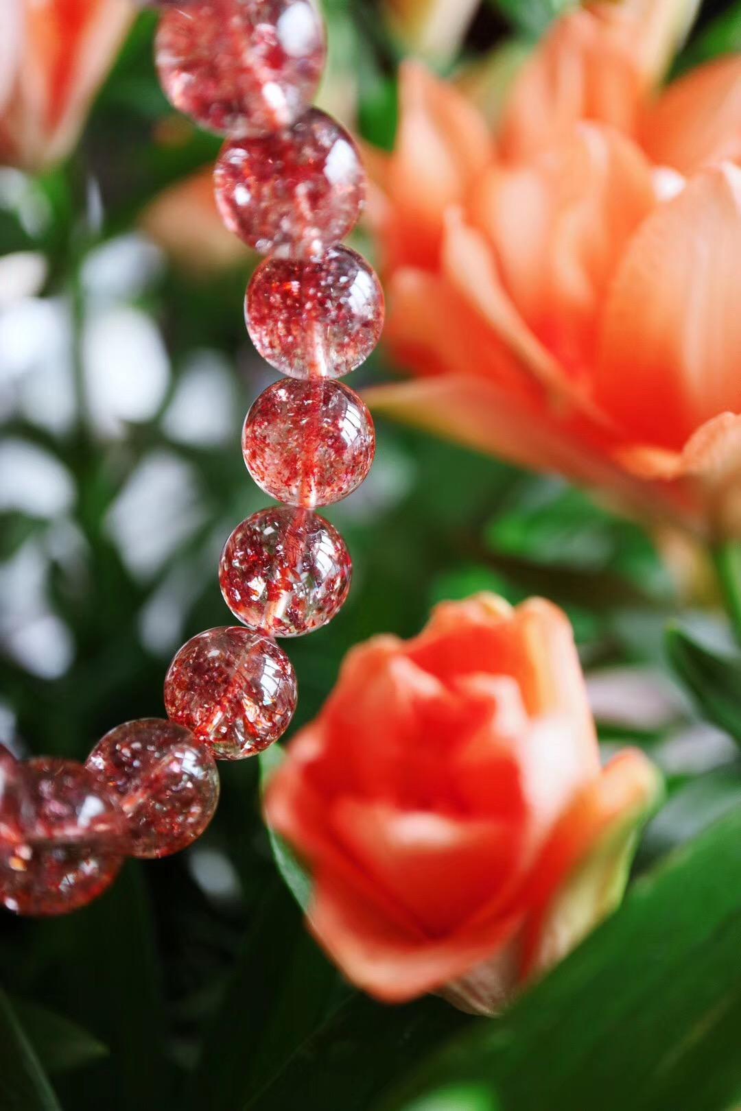 【菩心-金草莓晶】金草莓晶,从骨子里散发出高贵的气息-菩心晶舍