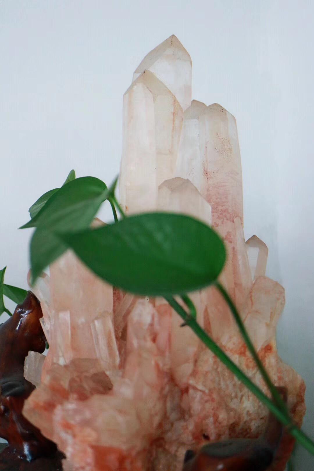 【菩心 | 白水晶簇】可助提升空间磁场改善风水~~-菩心晶舍