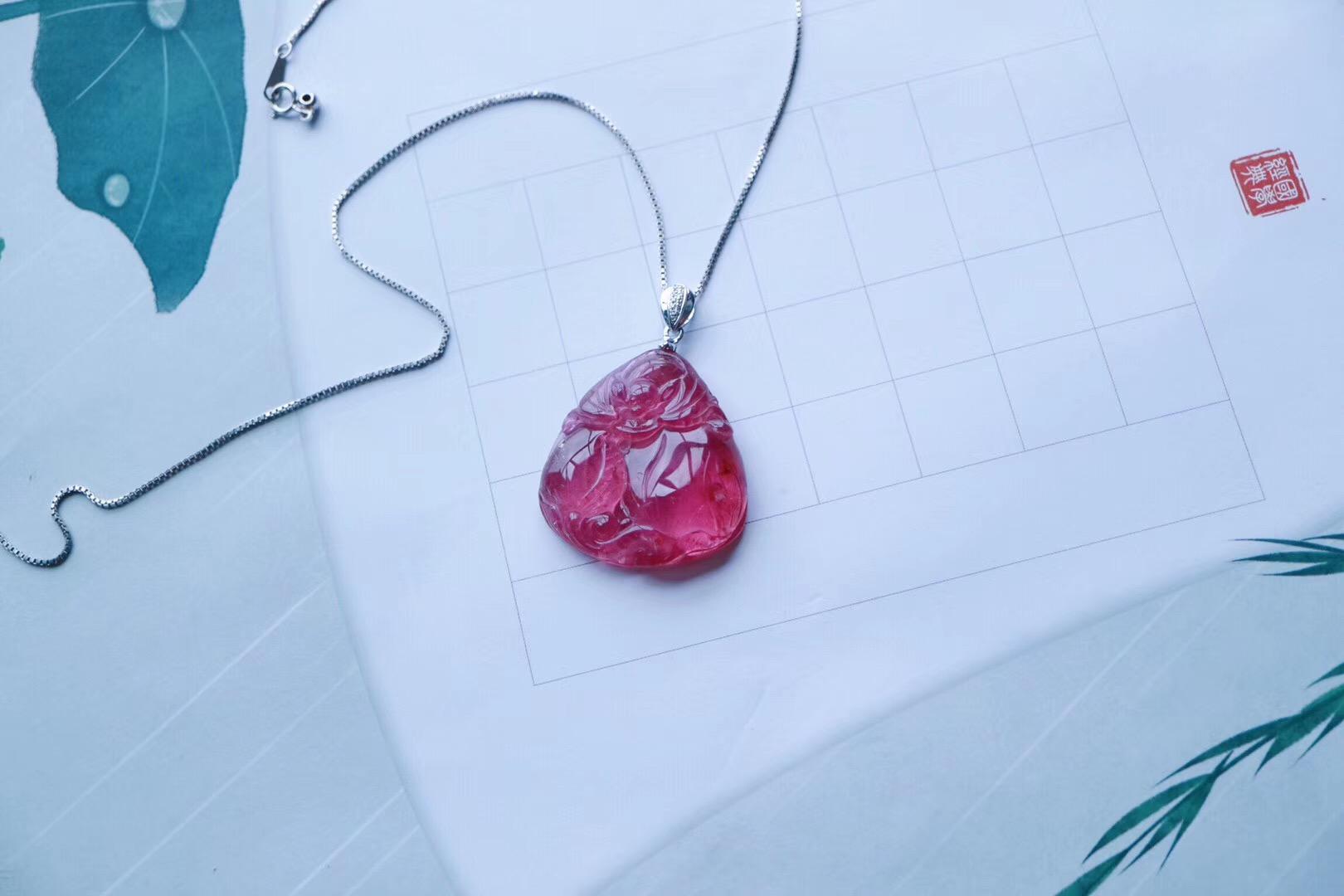 【菩心 | 粉碧玺】 粉红电气石是物质世界中爱的给予者-菩心晶舍