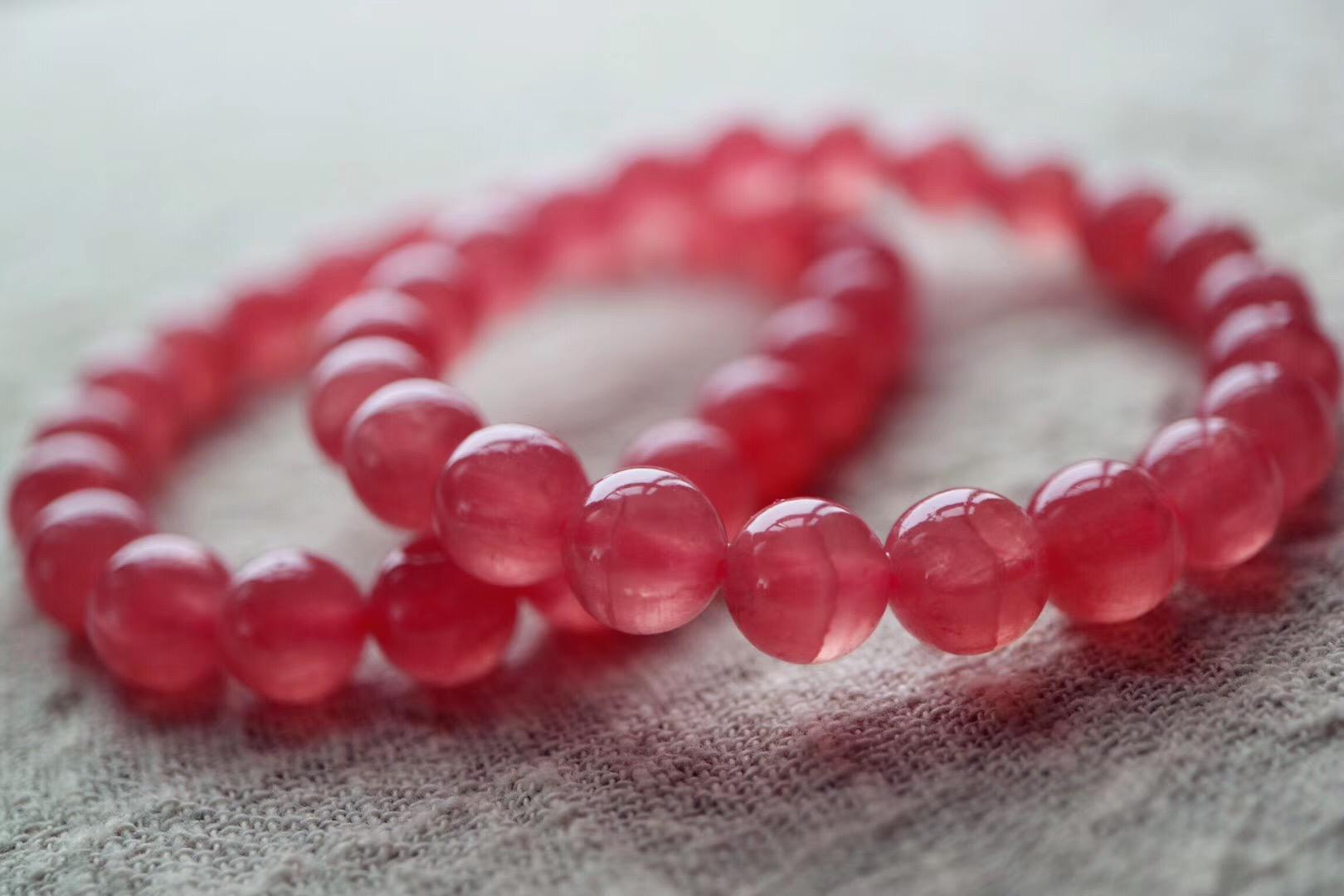 菩心   红纹石手链,招异性桃花的灵石-菩心晶舍