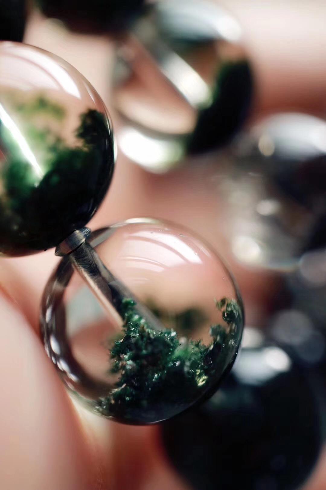 菩心   绿幽灵聚宝盆,罕见玻璃体通透无比-菩心晶舍