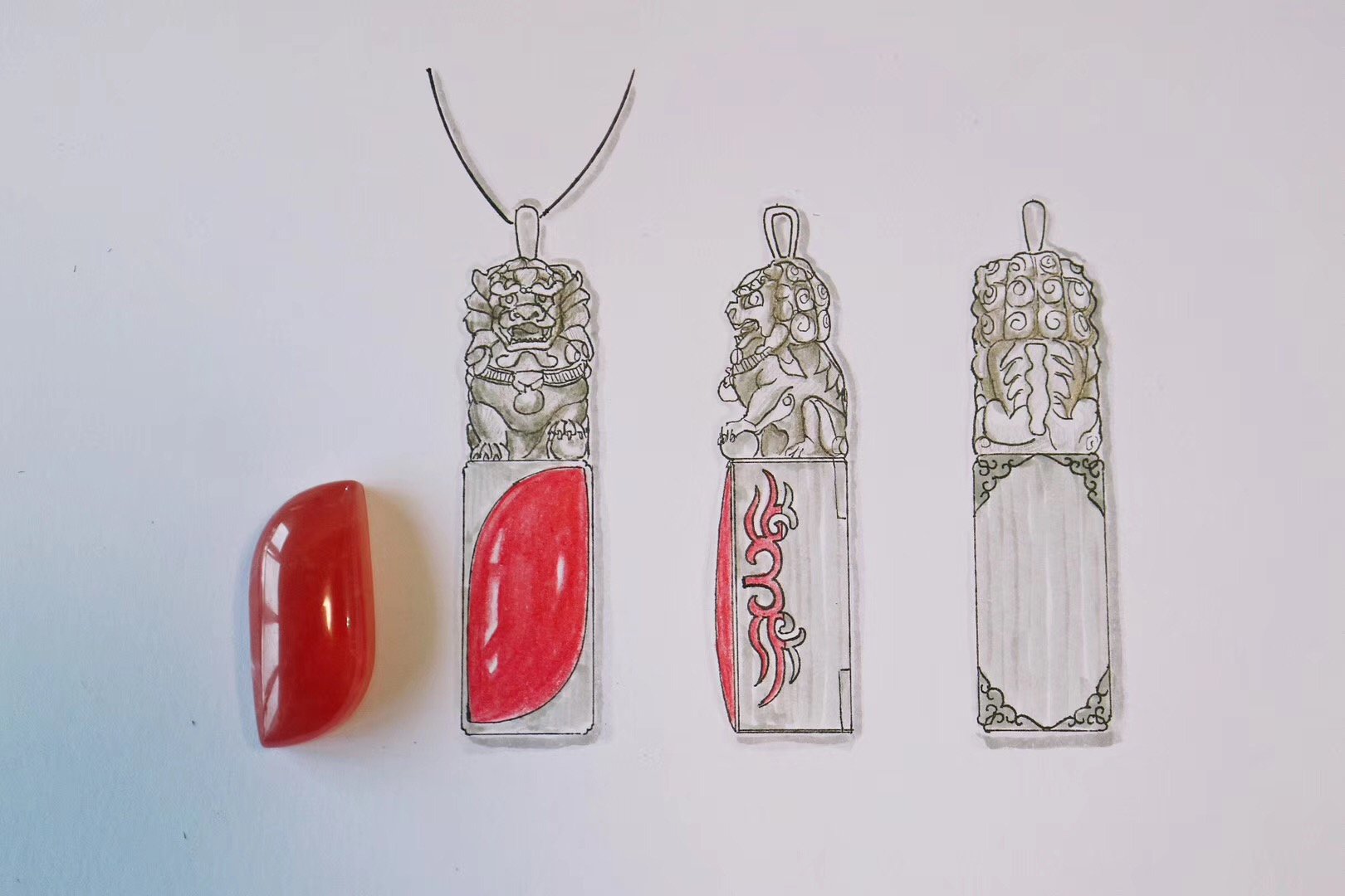 【菩心-红纹石】精彩之处,处处精彩-菩心晶舍