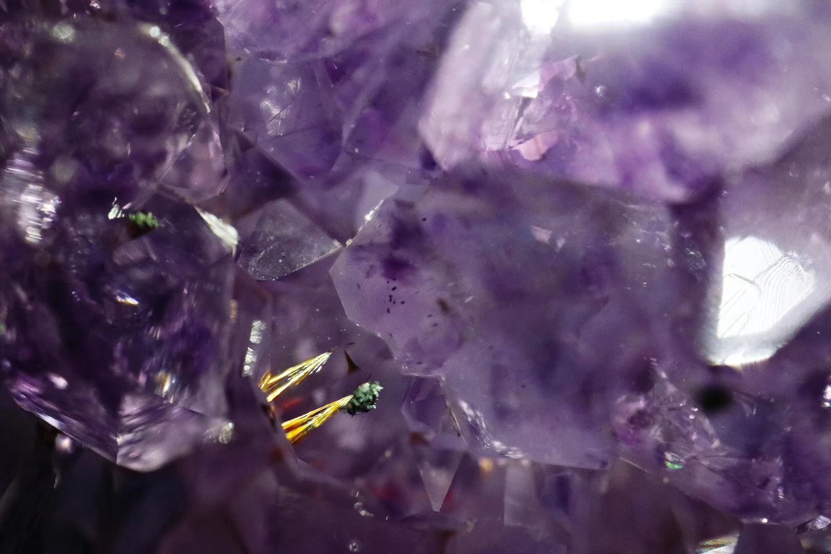 【菩心-紫晶洞】收一只晶洞,其实并没有那么难,看眼缘便可-菩心晶舍