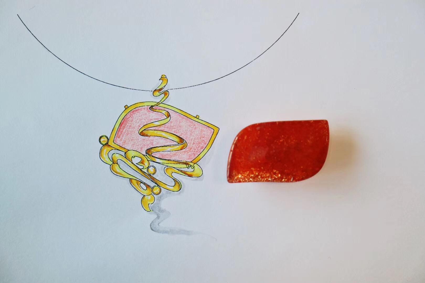 【菩心-太阳石】要与带给自己阳光的人在一起-菩心晶舍