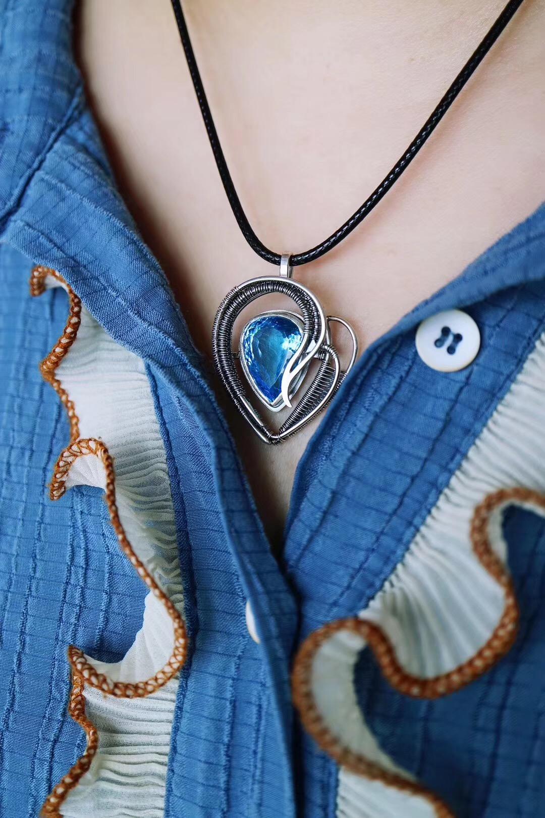【托帕石&蓝色之恋】是什么时候喜欢上你的呢-菩心晶舍