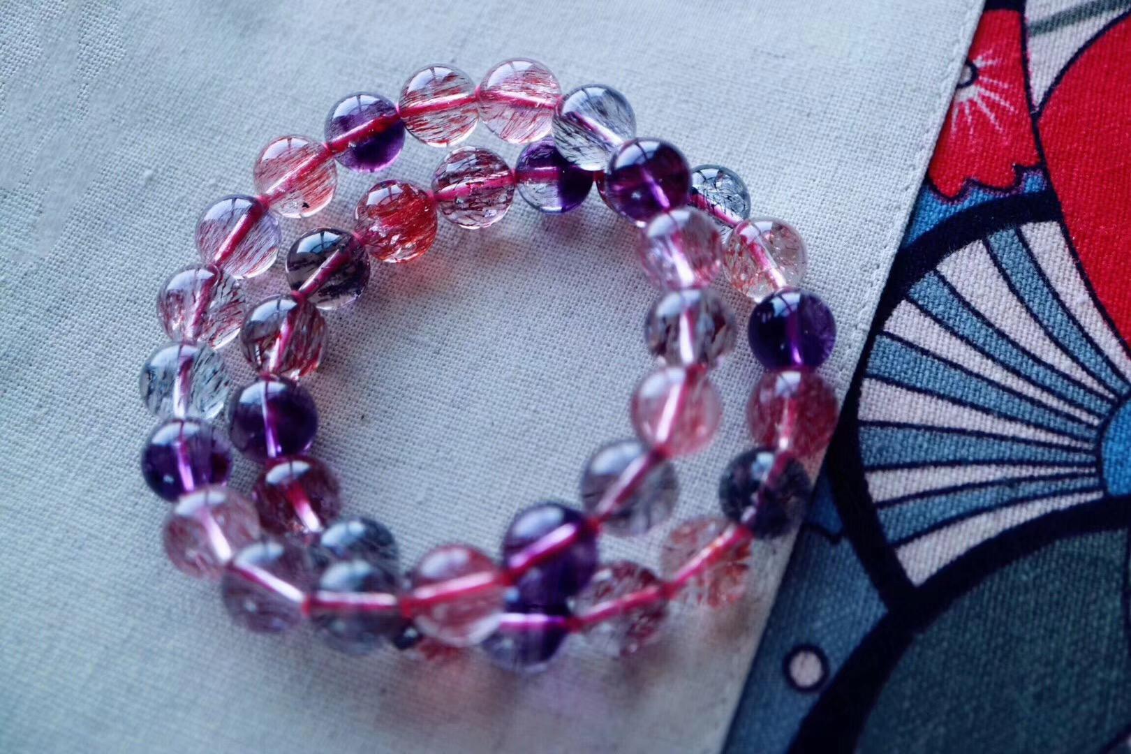【紫发晶手链】发丝好顺好多,极品就是极品-菩心晶舍