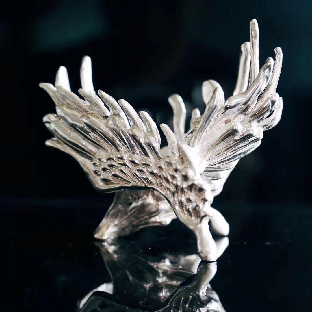 一枚天使之翼的底座,供大家赏之~-菩心晶舍