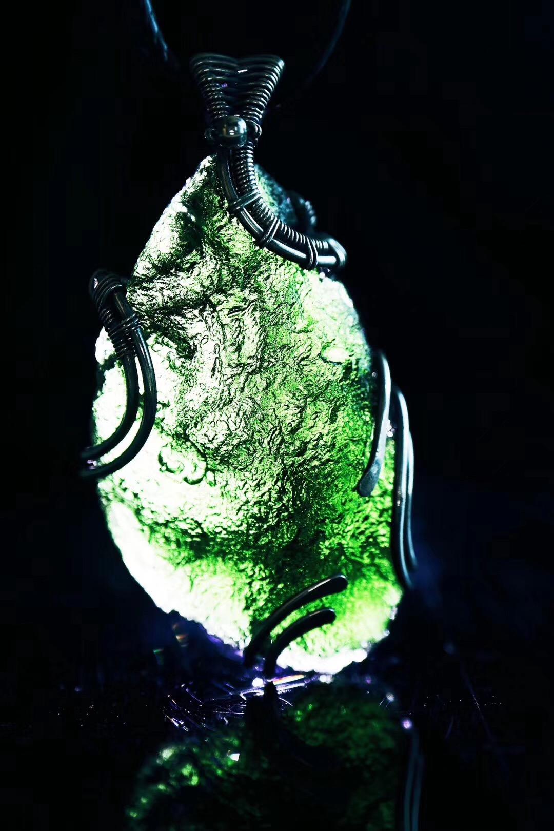 【捷克陨石】佩戴捷克陨石,代表着一种转化-菩心晶舍