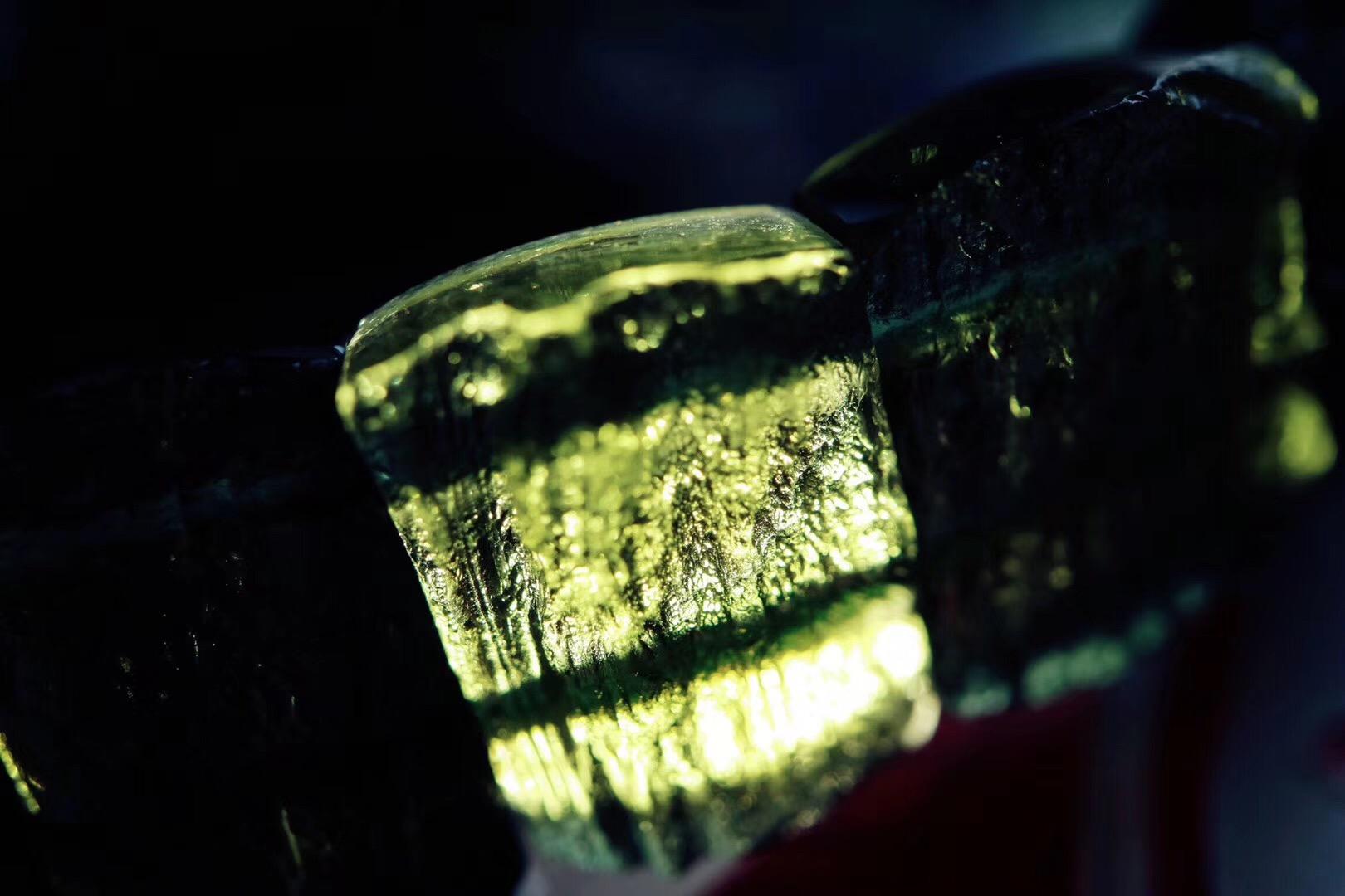 【捷克陨石】 点一盏心灯,不念过往,不畏将来-菩心晶舍