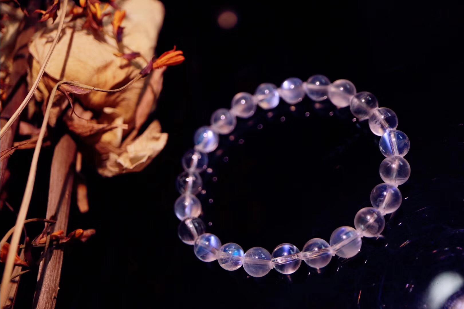 【 月光石】温柔的月光相伴定能给你最温柔的疗愈-菩心晶舍