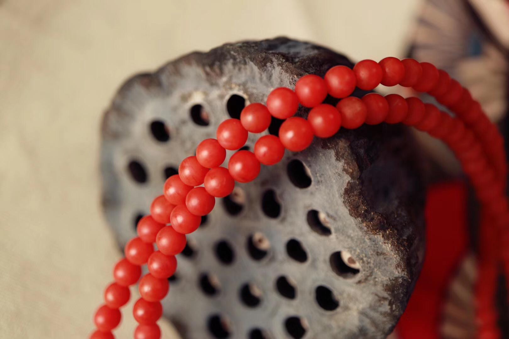 【保山南红】一串素珠,当显极简之美~-菩心晶舍