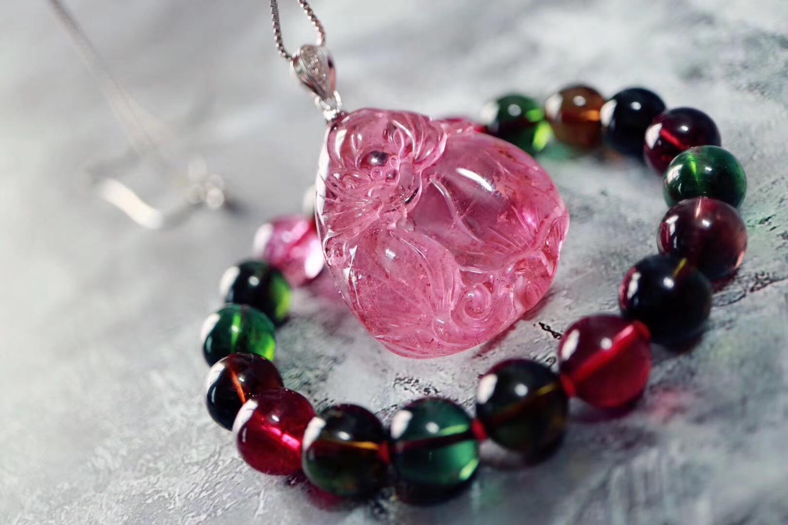 【碧玺】将多种彩色宝石的优点集于一身-菩心晶舍
