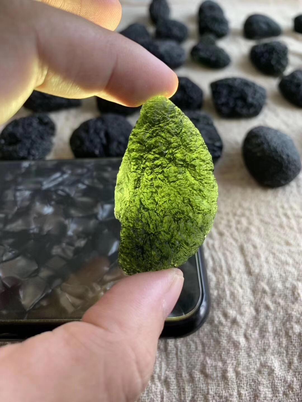 今日收捷克陨石的好多都是处女座-菩心晶舍