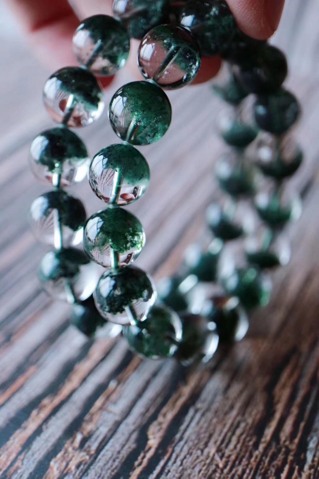 【绿幽灵聚宝盆】一抹绿代表大地的能量对心轮彻底的疗愈-菩心晶舍