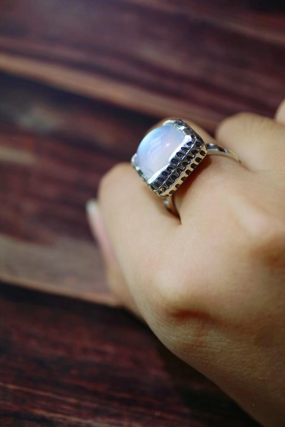 【月光石戒指】踏着这灿烂的月光,我们再一起漫游-菩心晶舍